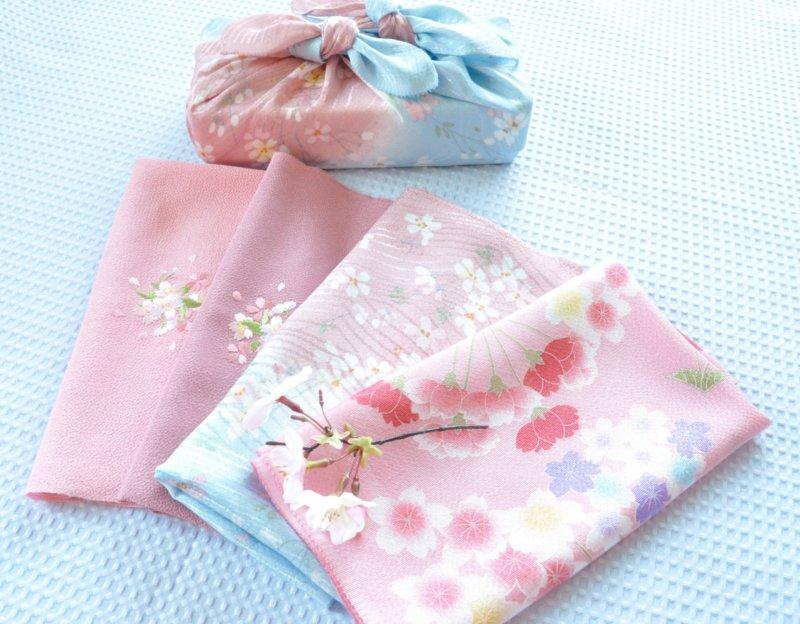桜模様の風呂敷