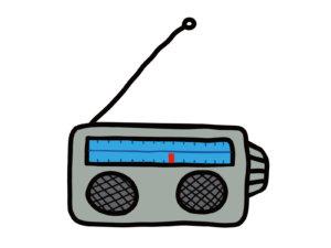 ラジオのイラスト